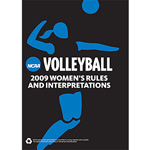 2009 NCAA Volleyball Rules