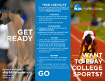 NCAA Initial Eligibility Brochure (Road Map To Initial Eligibility)