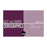 Race and Gender Demographics - 2007-08 NCAA Member Conferences' Personnel Report