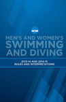 2014 and 2015 Swimming and Diving Rules