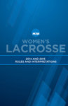 2014 and 2015 Women's Lacrosse Rules