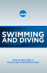 NCAA Men's and Women's Swimming and Diving Rules 2015-2016 and 2016-2017