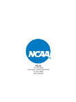 NCAA Two Pocket Folder