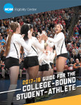 2017-18 NCAA Guide for the College Bound Student Athlete (Sold as a Package of 25)