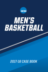 2017-18 NCAA Men's Basketball Case Book