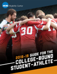 2018-19 NCAA Guide for the College Bound Student Athlete (Download Only)