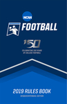 2019 NCAA Football Rules and Interpretations