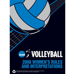 2008 NCAA Women's Volleyball Rules