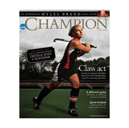 NCAA Champion Magazine 1 Year Subscription