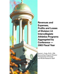 Revenues & Expenses, Profits & Losses of Div-I-A Intercollegiate Athletics Programs - Aggrevated by Conference - 2003 Fiscal Year