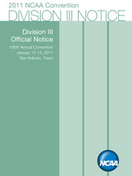 Division III Official Notice