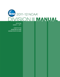 2011-2012 Division 3 Manual (August 2011)