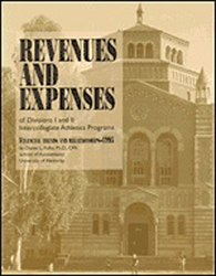 Revenues & Expenses of Div-III Intercollegiate Athletics Programs - Financial Trends & Relationships 1999