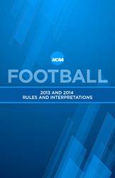 2013-14 NCAA Football Rules Book