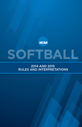 2014 and 2015 Softball Rules