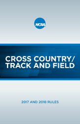 2017-2018 Cross Country and Track and Field Rules