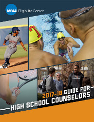 2017-18 Guide for High School Counselors