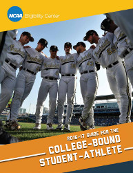 2016-17 NCAA Guide for the College Bound Student Athlete (Sold as a Package of 25)