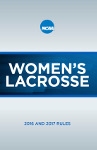 2016 and 2017 NCAA Women's Lacrosse Rules