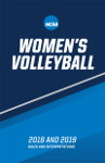 2018-19 Women's Volleyball Rules Book